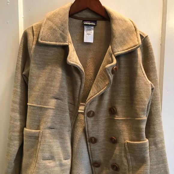 Patagonia Jackets & Blazers - Patagonia Better Sweater Pea coat sz S